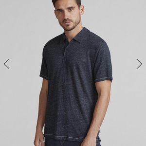 Rag and bone Owen linen polo